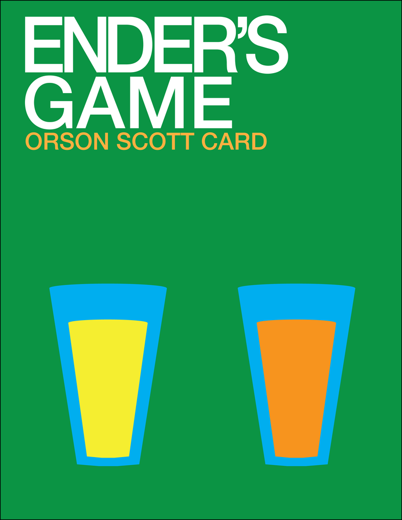 an analysis of ender in enders game by orson scott card Based on the best-selling, award winning novel, ender's game is an epic  based on a hit novel by orson scott card, this futurist sci-fi film trudges along in.