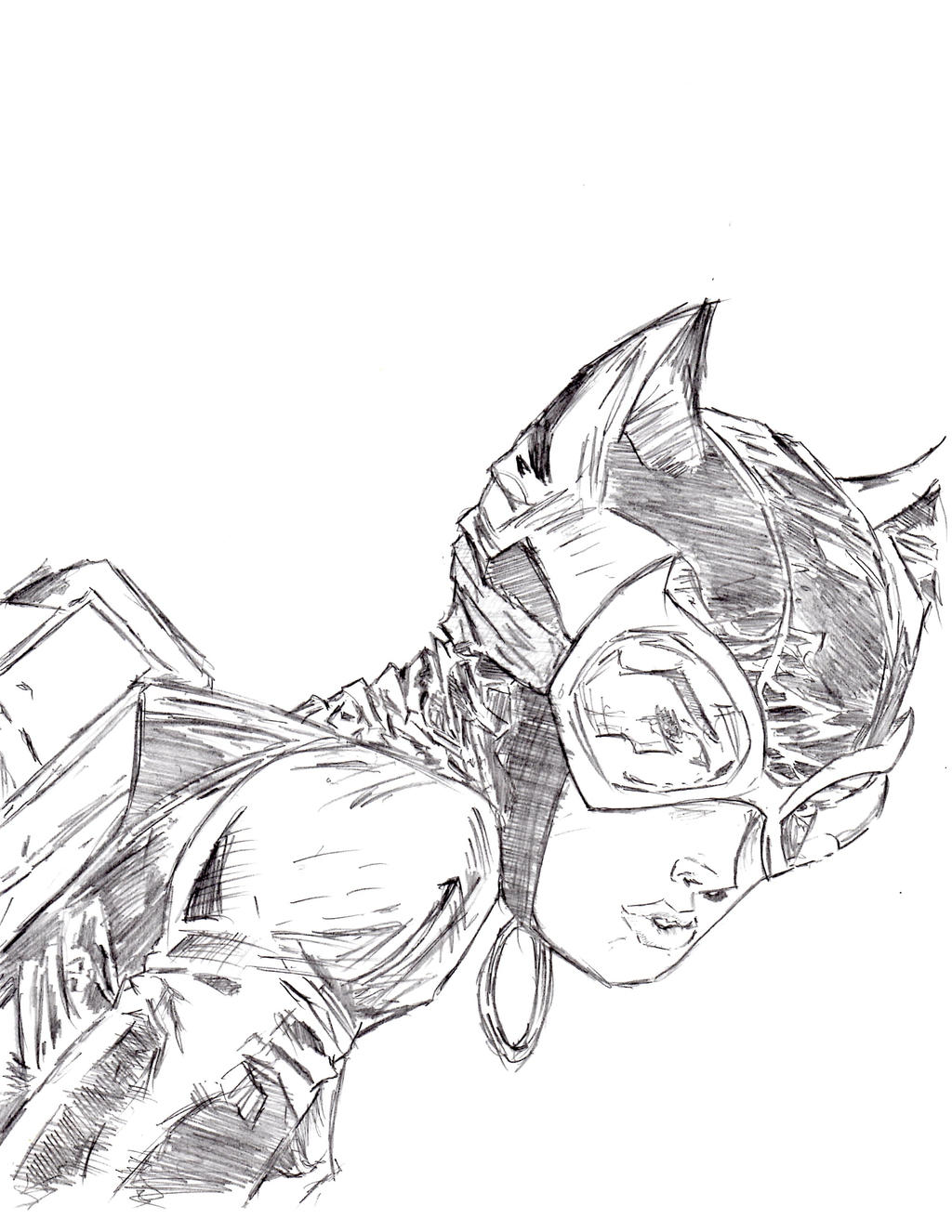 Jim Lee's Catwoman by thatonedude476 on DeviantArt