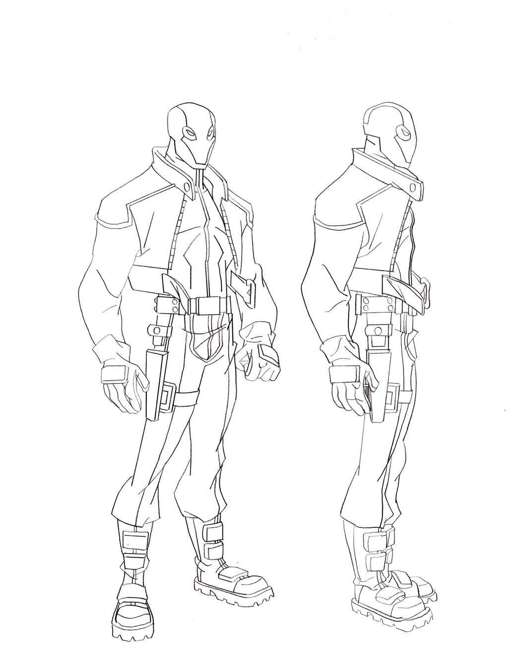 jason todd coloring pages - photo#27
