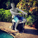 Pool Boy Turned to Stone