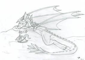 Big Dragon, Little Dragon by bladewing