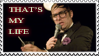 Neil Hamburger Stamp by The-Misfit-Toy