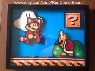Super Mario Brothers 3 Shadow Box (3D)