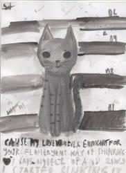 Felino III or Jail Cats by cinnamonsid