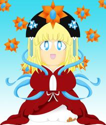 Mythological Royal-chan by MaiSwirley