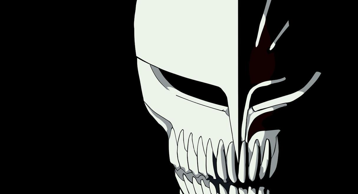 Ichigos Hollow Mask Vector By Soul Taker Richar
