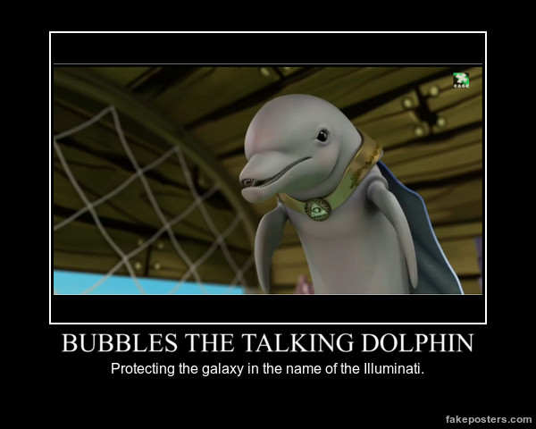Bubbles The Talking Dolphin Demotivational by mewmewspike on DeviantArt