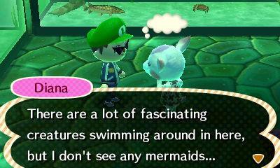 Diana Talking About Mermaids