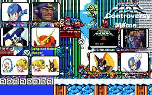 mewmewspike's Mega Man Controversy by mewmewspike