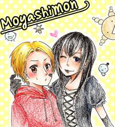 Moyashimon: Kei and Tadayasu by milei
