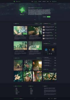 Clan Gaming Web Design