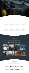 Portfolio Web Template by iEimiz
