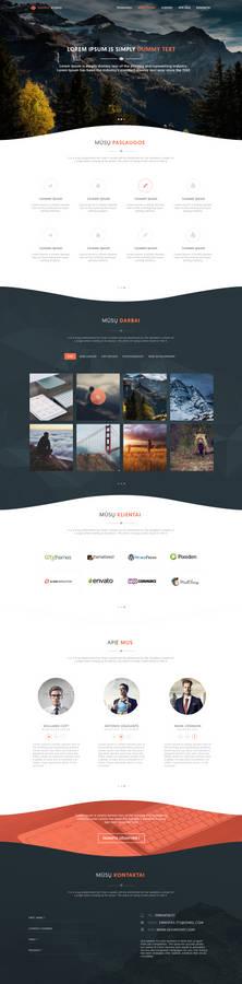 Portfolio Web Template