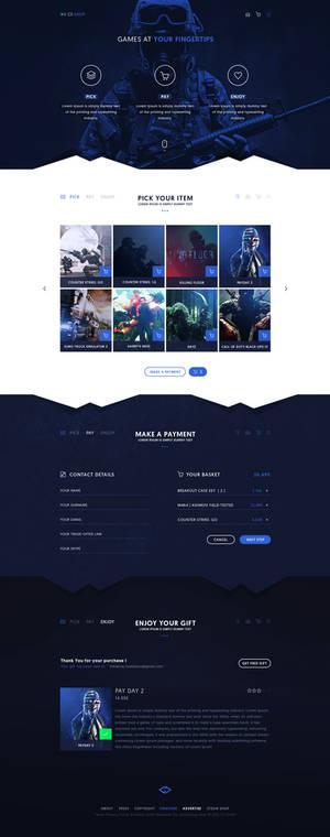 CS SHOP - Web Design