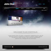 Website PSD Layout by EmilioEx