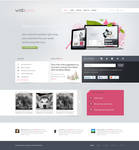 A free HTML and PSD template