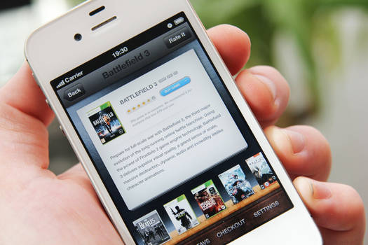 Game Store App