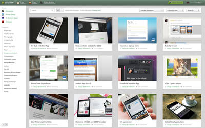 DeviantArt Redesign Concept 2012 by EmilioEx