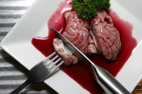 Brain Dinner by lindamcrae