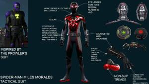 Spider-Man: Miles Morales Tactical Suit