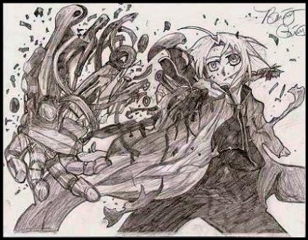 Reunion - Fullmetal Alchemist by chronicbetchface