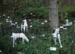 Deer Invasion:field of labels