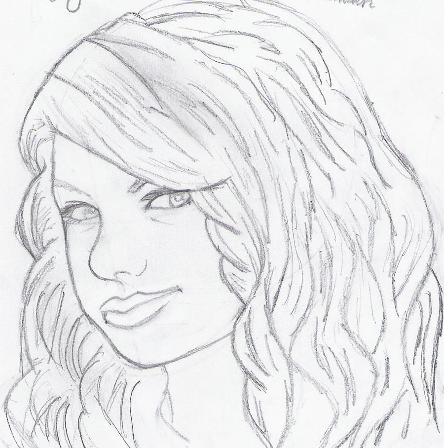 Famous Faces Taylor Swift By PotterMinion345