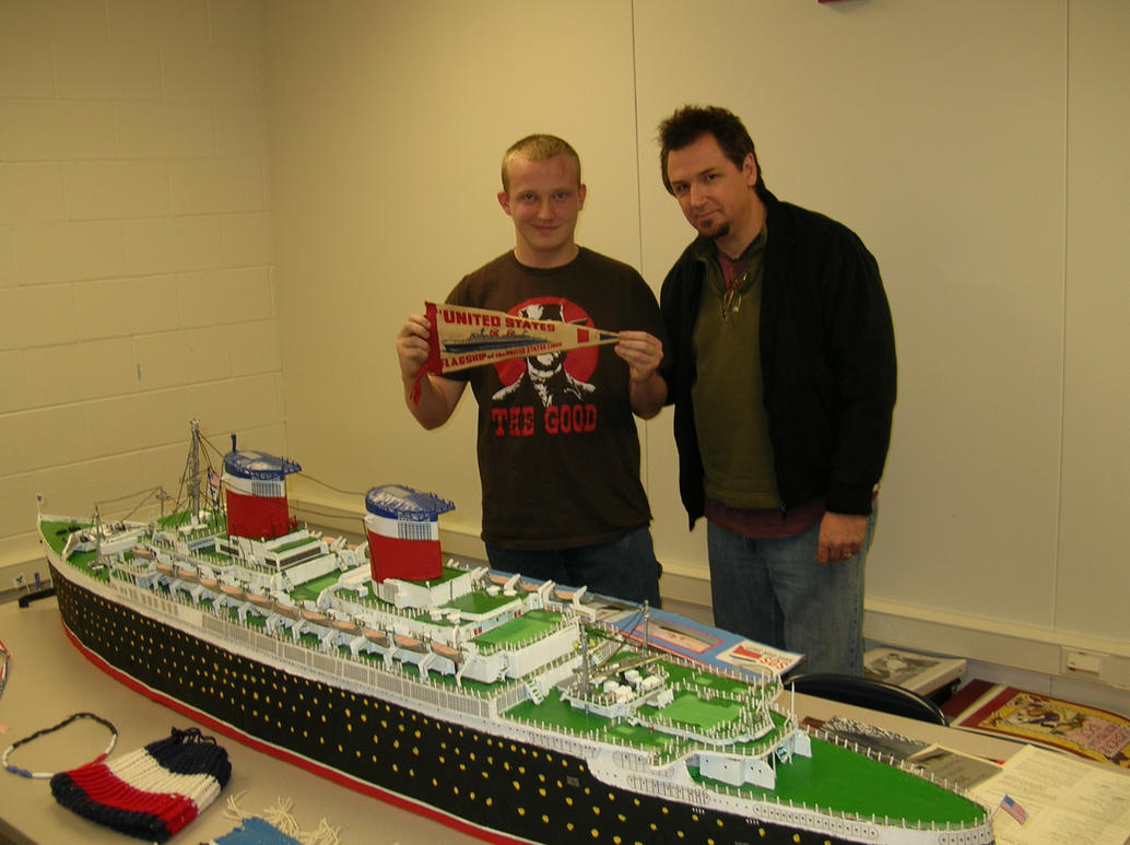 The Two Ocean Liner Historians by carsdude