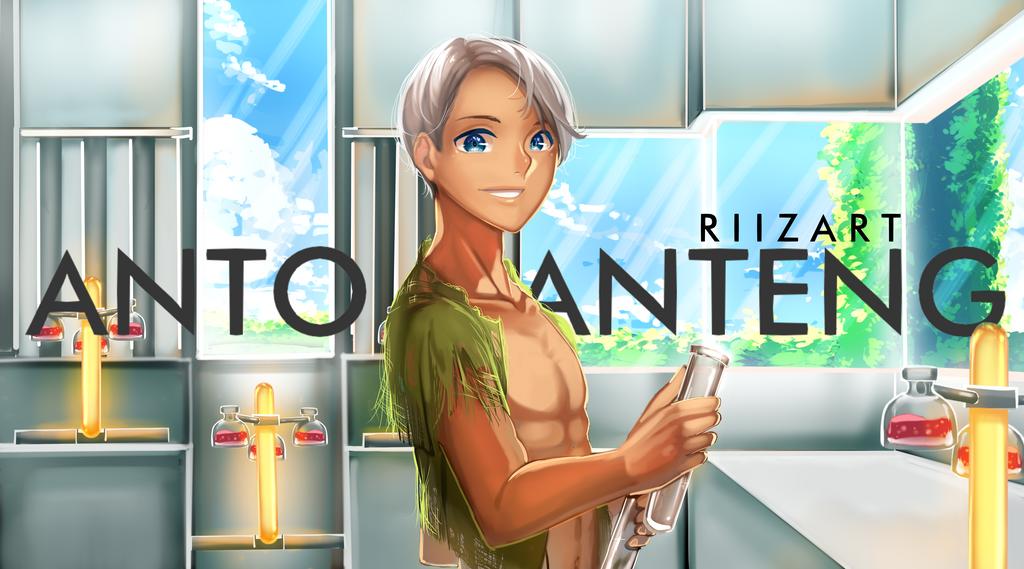 ANTO GANTENG FANART [Ketika anto menjadi ganteng] by Riizart