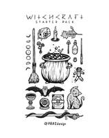 Witchcraft Starter Pack by PRA2design