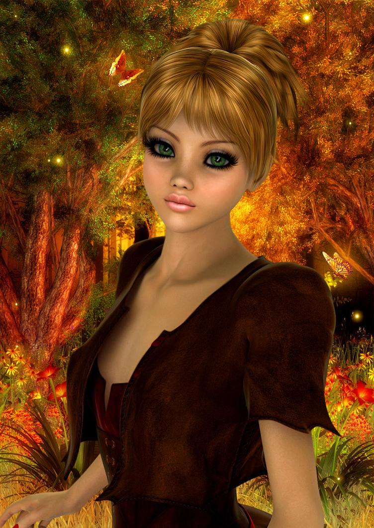 Autumn by MissKajunKitty