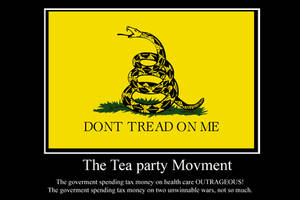 teabaggers demotivator by Party9999999