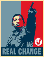 Real Change Poster by Party9999999