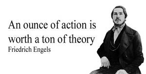 Friedrich Engels quote by Party9999999
