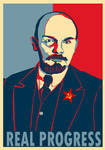 Lenin Progress poster