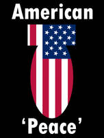 American Peace Poster by Party9999999