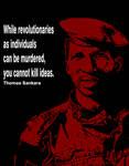 Thomas Sankara Quote Poster