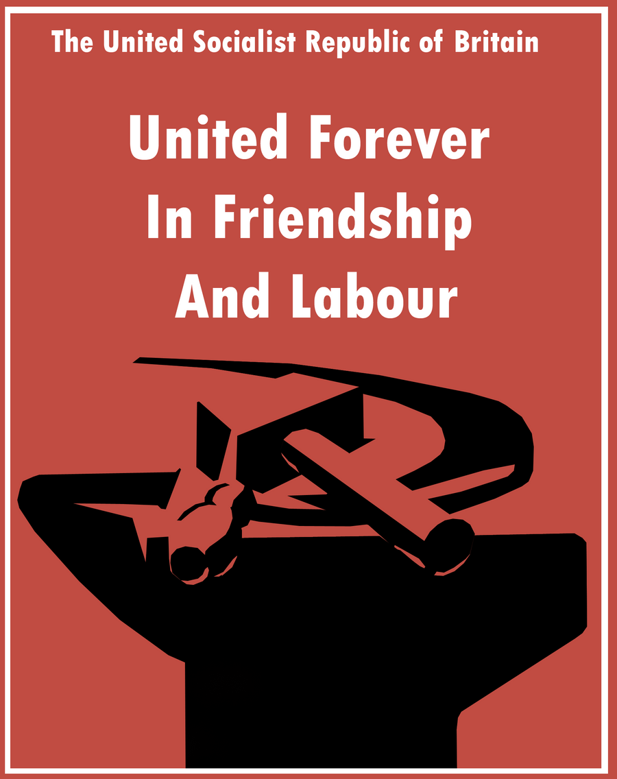 Socialist Republic Poster by Party9999999 on DeviantArt