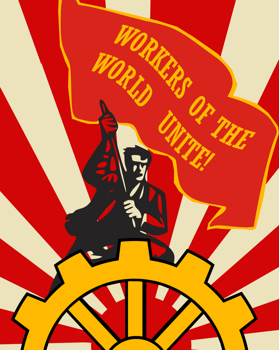 Socialist Unity Poster by Party9999999 on DeviantArt