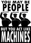 Don't Became a Machines