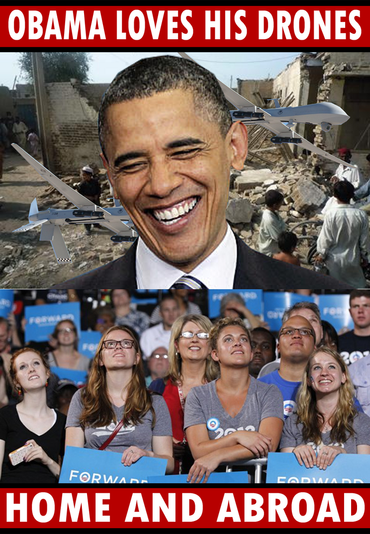 Obama's Drones by Party9999999