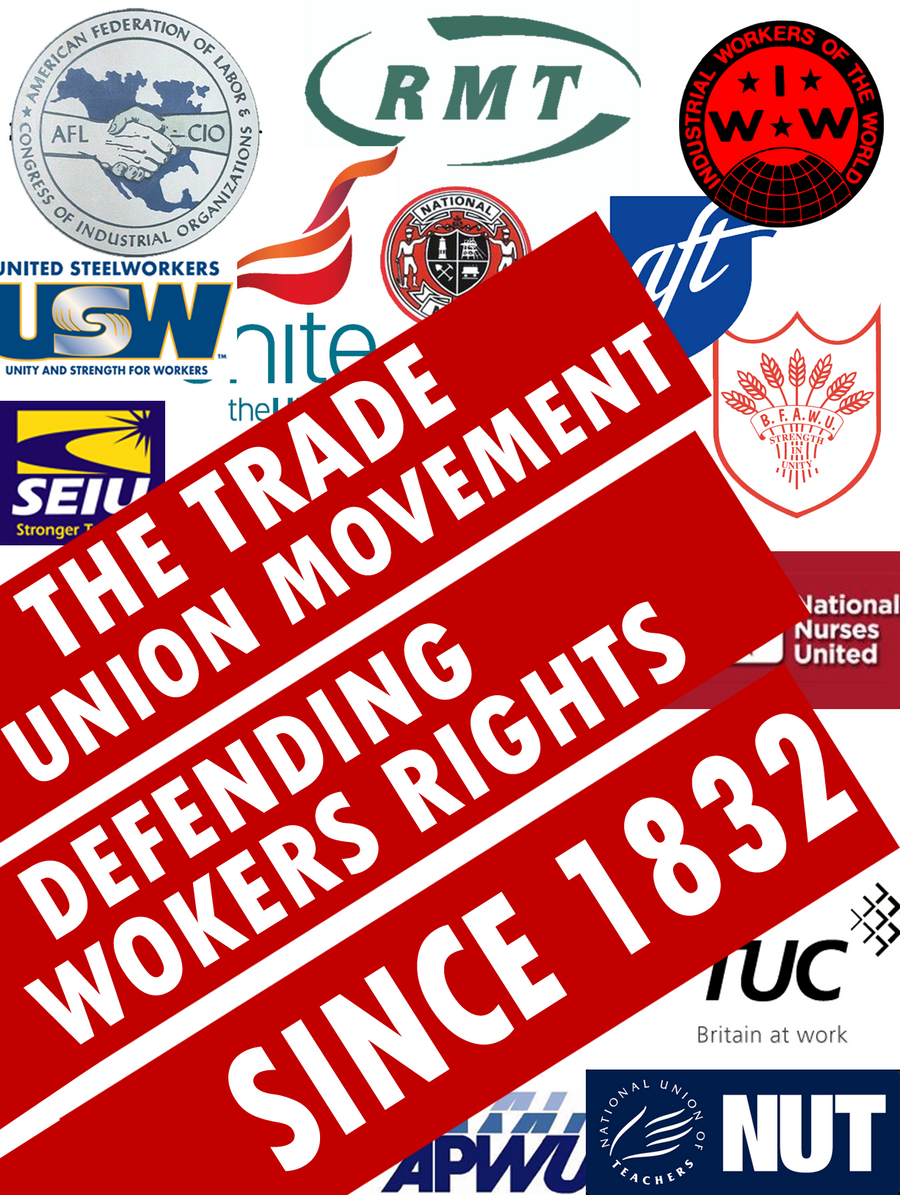 evaluate the view that trade unions History of trade unions trade unions was defined as combinations for regulating the relations view all entries by international this entry of the legal.