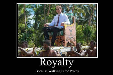 Royalty Demotivator by Party9999999