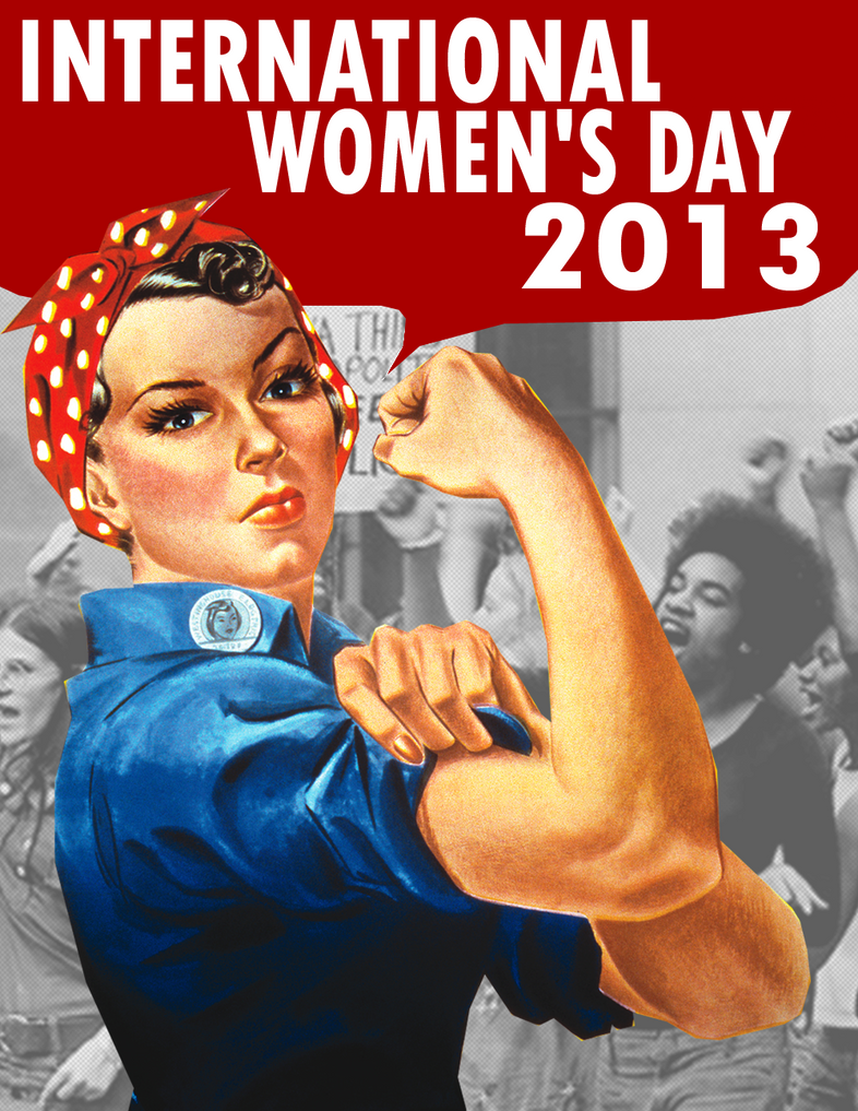 International Women's Day Poster by Party9999999 on DeviantArt