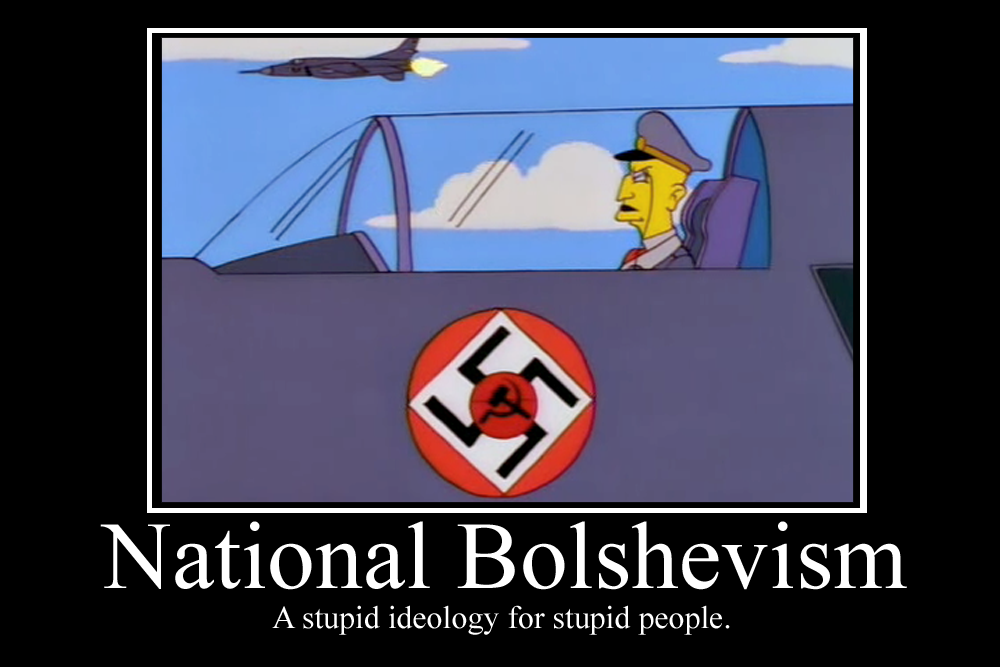 National Bolshevism Demotivator by Party9999999