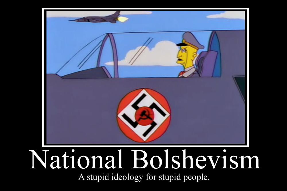 National Bolshevism Demotivator by Party9999999