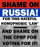 Shame on Russia