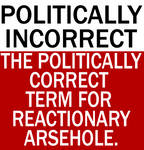 The meaning of Politically Incorrect