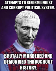 Bad Luck Julius Caesar by Party9999999