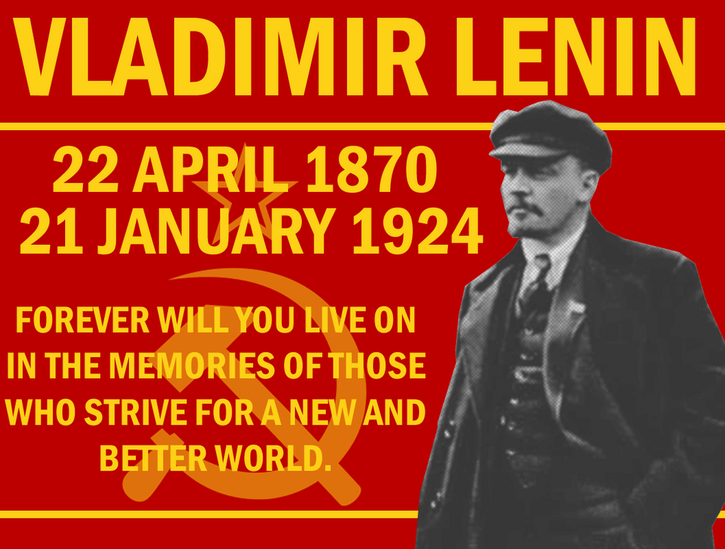 Lenin Remembered by Party9999999